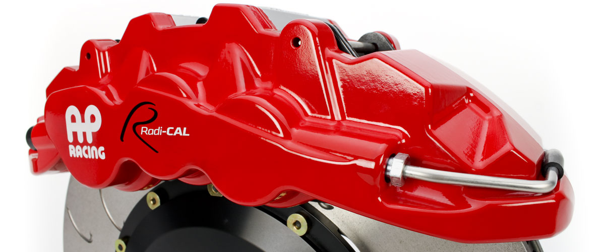 AP Racing Radi-CAL by STILLEN Brake Caliper in Red and Black