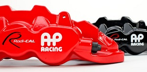 AP Racing Radi-CAL by STILLEN six pot caliper in red or black