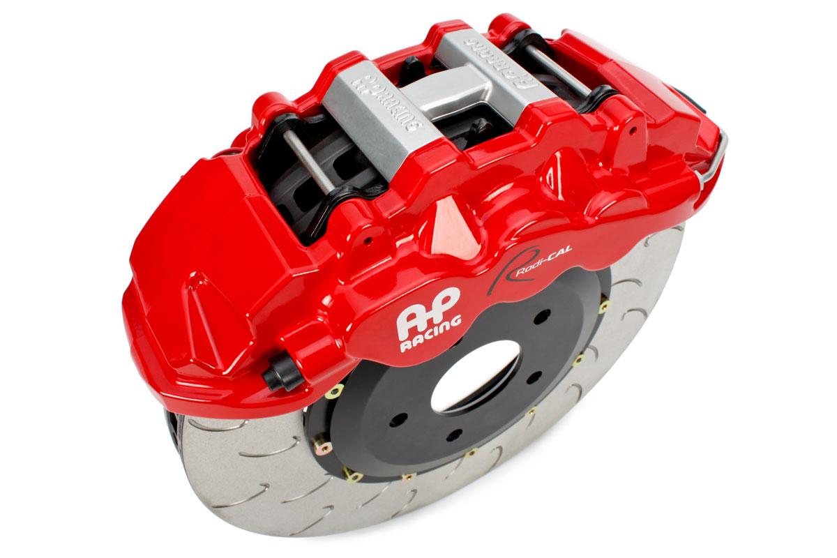 AP Racing Radi-CAL by STILLEN caliper and J-hook rotor