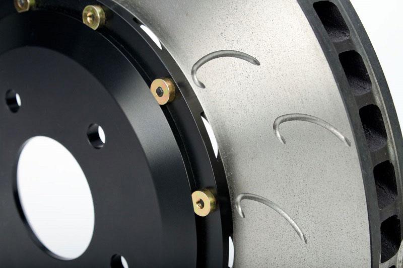 J-Hook Rotors | AP Racing Radi-CAL Vented Discs by STILLEN